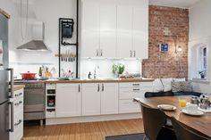 Bonito estudio de 46 m² con espacio para recibir a los amigos
