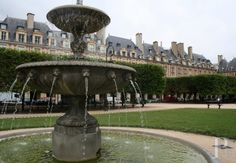 Place-des-Vosges in the 17th century -