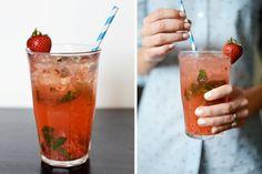 Strawberry Ginger Mojito