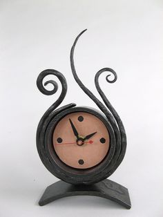 Forged Steel Clock