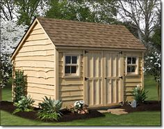 Garden shed similar to mine.. landscaping ideas!