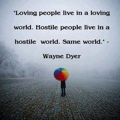 Same world no matter what