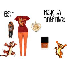 Tigger Inspired Outfit, this one is for Becky!