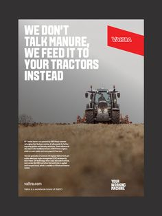 Valtra tractors visual identity - The Kitchen Sthlm