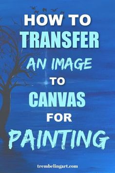 How To Transfer A Reference Photo To A Canvas Trembeling Art : Not everyone can draw their subject onto the canvas with accuracy. Sometimes we need a little help. There are several methods to transfer a reference photo to a canvas depending upon what Acrylic Painting For Beginners, Acrylic Painting Lessons, Acrylic Painting Techniques, Beginner Painting, Acrylic Art, Painting Canvas, Painting Abstract, Painting Hacks, Art Techniques