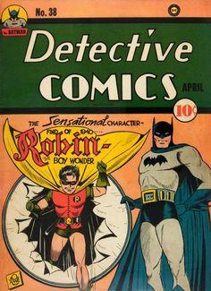 Detective Comics 38.  #BatmanDay