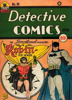 Detective Comics 38.  #BatmanDay