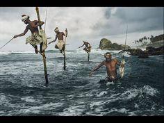 """Foto de pescadores no Sri Lanka, da exposição """"Steve McCurry – alma revelada"""""""