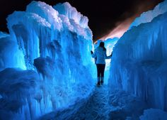 This Company Creates Ice Castles As A Winter Entertainment Attraction