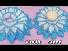 how make plastic canvas tea light candle holder /recycling CD diy candl. holder recycled how make plastic canvas tea light candle holder /recycling CD diy candle holder Plastic Canvas Crafts, Plastic Canvas Patterns, Crochet Applique Patterns Free, Doily Patterns, Stitch Patterns, Free Pattern, Canvas Door Hanger, Cd Diy, Lighted Canvas