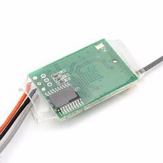 Holybro Satélite compatible con 2.4 Ghz Receptor para DSMX / DSM2 DX6 DX7 DX7se DX8 DX9 para RC Drone