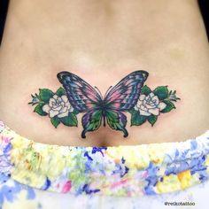 #butterfly #jasmine #tattoo #蝶 #ジャスミン #タトゥー #reikotattoo #studiokeen #名古屋 #大須 #矢場町