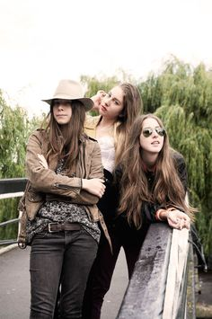 HAIM. Amazing new band. #Music #girlpower #zappos