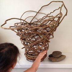 Random Weave Vine Basket