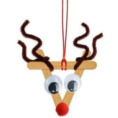 Make 35 ideas for Christmas decorations yourself with pipe Ideen für Weihnachtsdeko selber basteln mit Pfeifenputzer 35 ideas for making Christmas decorations yourself with pipe cleaner, cleaner - Diy Christmas Ornaments, Christmas Projects, Simple Christmas, Kids Christmas, Christmas Tree Decorations, Holiday Crafts, Stick Decorations, Christmas Crafts For Kids To Make, Summer Crafts