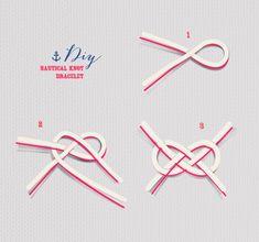 {DIY} Nautical Knot Bracelet