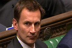 Jeremy Hunt to cut NHS red tape by third