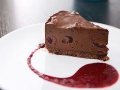 Raw Vegan Black Forest Cheesecake