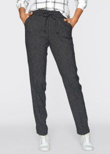Streaks of gray trousers, bpc bonprix collection, mealy anthracite
