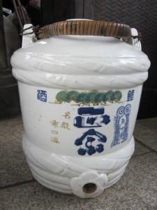Sake jug