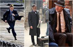 """Primeiras imagens da série """"Gotham"""" mostram James Gordon, Pinguim e Harvey Bullock"""