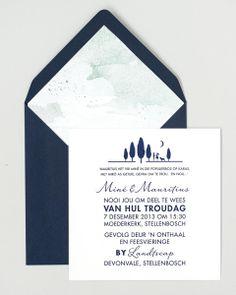 Seven Swans Wedding Stationary