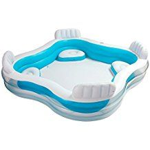 Toyplanet juguetes online moto de agua hinchable verano 2015 pinterest juegos de agua - Piscina hinchable con asientos ...