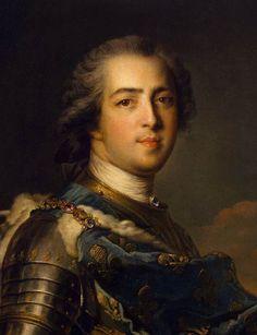 Portrait of Louis XV of France - Nattier