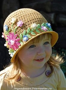 "So cute. Crochet girls hat. Website is not in English, but these hats are amazing for INSPIRATION. I just clicked on a few ""blue"" words to view the hats."