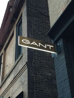 GANT blade sign - Wicker Park, Chicago