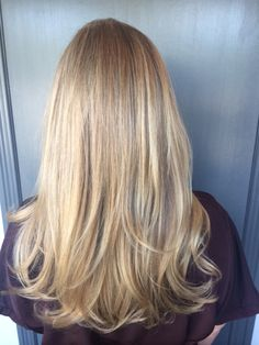 Winter Blonde hair color