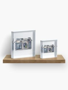 'Old School Camera Retro Vintage Photography' Acrylic Block by Photographic Prints, Vintage Photography, Old School, Diamond Cuts, Retro Vintage, Vibrant, Greeting Cards, Crystals, Vintage Style Photography