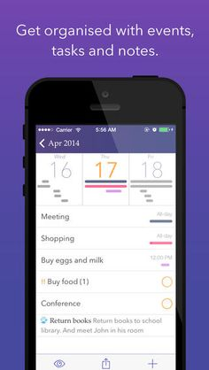 Planner Plus for iPhone - Daily Schedule, Task Manager & Personal Organizer Appxy 캘린더 다이어리