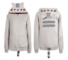 Keep Warm and Stay Cute - Pusheen hoodie