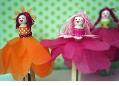 Peg Dolls from littlies parenting magazine Projects For Kids, Craft Projects, Crafts For Kids, Arts And Crafts, Craft Ideas, Craft Stick Crafts, Craft Sticks, Diy Crafts, Clothes Pegs