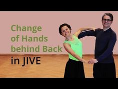 How to dance Jive - Change of Hands behind Back - YouTube