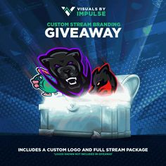 Enter This Custom Stream Graphics Diamond Package Giveaway!