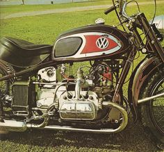 Random Thoughts of Drunkards: Why and How I built a VW motorcycle
