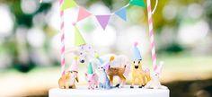 Para crianças que adoram animais, nada melhor que fazer uma festinha de aniversário com o tema do seu animalzinho favorito, ou quem sabe a...