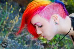 Rainbow mohawk | Rainbow mohawk #Rainbow #Mohawk