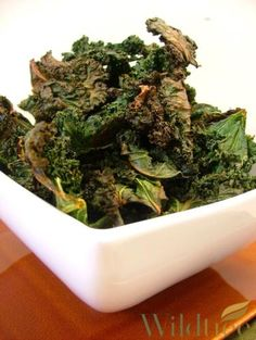 Wildtree's Baked Kale ChipsRecipe