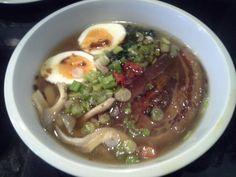 Tonkotsu Ramen with Noodles cooked by Jaro Korbas