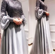 Abiyeler Gaun Muslim, Dress Brokat Muslim, Muslim Gown, Muslim Wedding Gown, Wedding Hijab, Muslim Hijab, Kebaya Muslim, Muslim Fashion, Arab Fashion