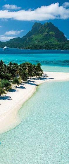 At gorgeous Tahiti, French Polynesia.