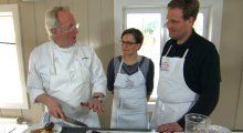 Hellstrøms fiskegrateng med saus og hjertesalat | TV3 Mat