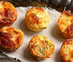 Bisquick Mini Quiches - Customize Add-ins, Freeze for Later, Great for Using up Extra Eggs