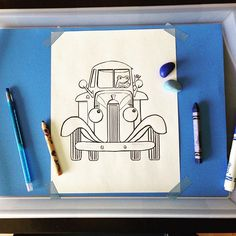 A simple activity waiting for my Little Blue Truck fan to wake up from his nap. Baby Boy Birthday, Blue Birthday, Farm Birthday, 3rd Birthday Parties, Party Activities, Book Activities, Little Blue Trucks, Second Birthday Ideas, Truck Coloring Pages