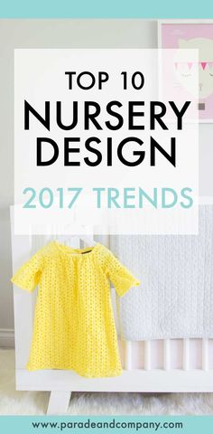 Top ten baby and kids room trends for 2017
