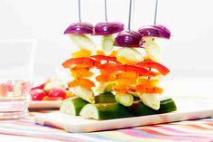 Warzywne szaszłyczki #smacznastrona #omnomnom #food #vege #healthy #warzywa #dinner