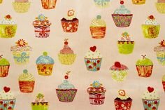 Vidal Tecidos | Produtos | 880/5924343, tecido plastificado, cupcake